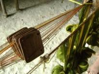 card weaving header